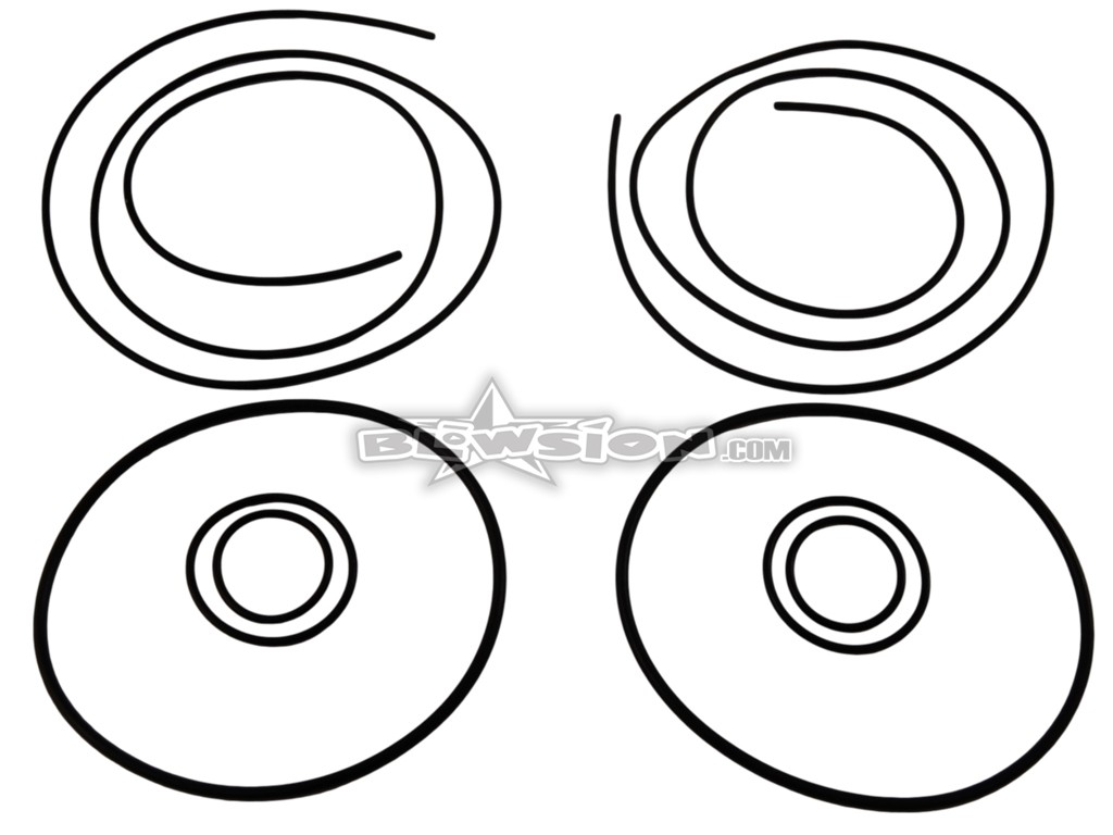 Blowsion Riva Billet Head O Ring Kit