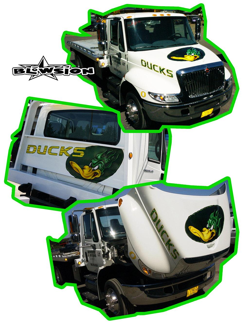 Quincy Wilson Ducks Don T Pull A Truck