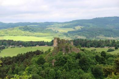 Blick auf die Gerolsteiner Dolomiten