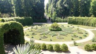 Parklandschaft an der Südseite der Neuen Orangerie