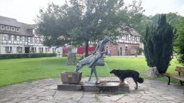 Münchhausen-Skulpturen