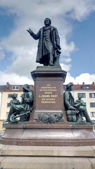 Bürgermeister Smidt-Denkmal am Theodor-Heuss-Platz
