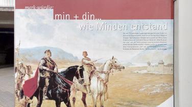 Darstellung des historischen Minden