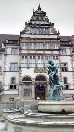 Verwaltungsgebäude aus preußischer Zeit