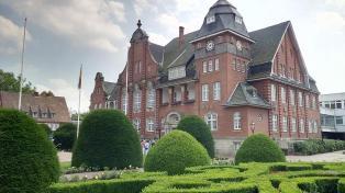 Das historische Rathaus aus dem Jahre 1913