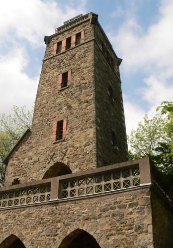 Der Klippenturm aus der Nähe