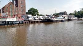 Womo-Stellplatz am alten Hafen
