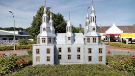 Modell des alten Schlosses