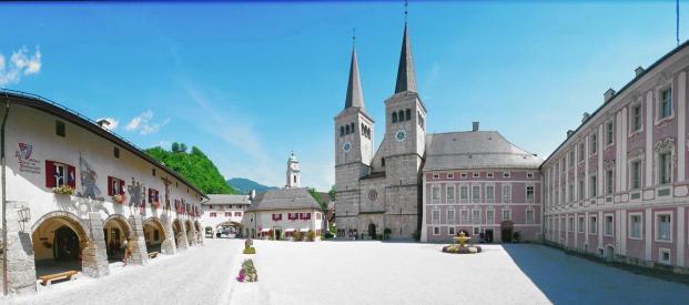 Schlossplatz von Berchtesgaden