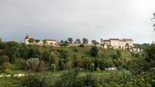 Mittelteil der Burg