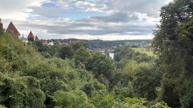 Blick von der Burg Richtung Salzburg
