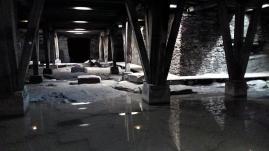 Gänge unter der Arena des Amphitheaters