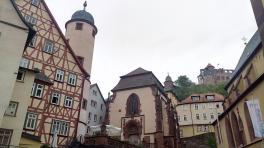 Museum am Aufstieg zur Burg