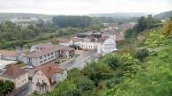 Blick vom Kloster hinunter auf Blieskastel