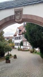 Hübscher Hinterhof