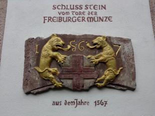 Erinnerung an die Freiburger Münze