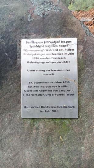 Infotafel zur Geschichte des Nollenkopfes