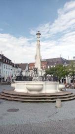 Brunnenanlage in der historischen Altstadt