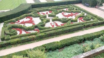 Barockgarten am alten Schloss