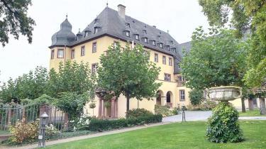 Der Hauptbau vom Schlosshof aus gesehen