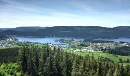 Blick auf die Gemeinde Schluchsee