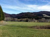 Berge am Nordrand des Hochtals