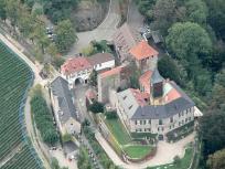 Luftbild von Schloss Eberstein (Foto: Lothar Neumann   http://commons.wikimedia.org   Lizenz: CC BY-SA 3.0 DE)