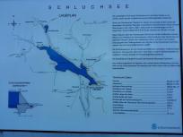 Infotafel zur Geographie des Schluchsees