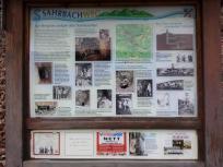 Infotafel Sahrbachtal: Bergbau im Tal