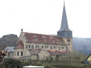 Die Kirche von Mayschoß
