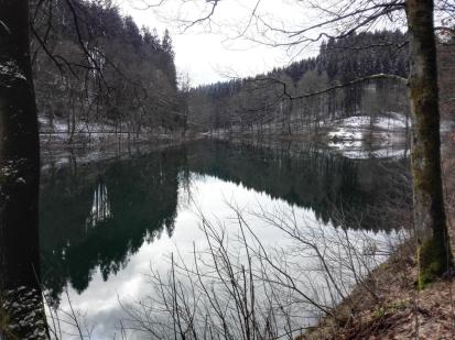 Winterliche Ruhe an der Talsperre