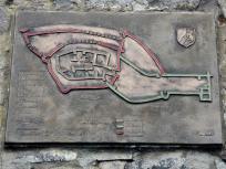 Struktur der ursprünglichen Burganlage