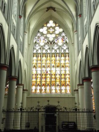 Fenster über dem Eingangsportal im Altenberger Dom