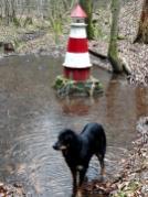 Wie kommt denn der Leuchtturm in den Odenwald?