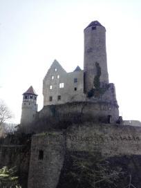 Burgfried der Burg Hornberg