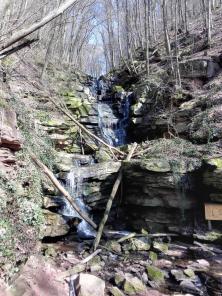 Wasserfall in der Margarethenschlucht