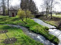 Im Stadtpark von Bad Staffelstein