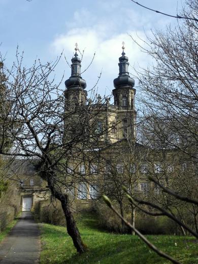 Die Kirche des Klosters Banz