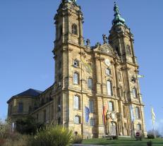 Fassade der Basilika Vierzehnheiligen (Foto: von Michael KR | http://commons.wikimedia.org | Lizenz: CC BY-SA 3.0 DE)