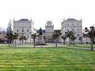 Ehrenburg und Schlossplatz