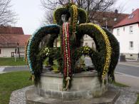 Osterbrunnen in Großgressingen