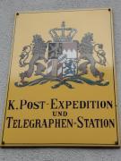 Hier gibt es sie noch, die gute alte königlich-bayerische Post