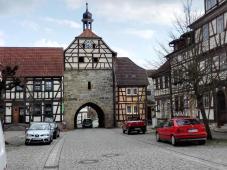 Das Untertor, letztes erhaltenes Stadttor von Heldburg