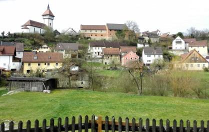 Blick auf Hollfeld