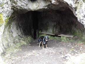 Die Höhle am Großen Hermannsfelsen