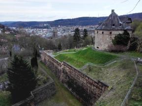 Kasematten der alten Kaserne neben dem Landgrafenschloss