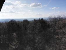 Blick vom Stoppelberg in den Taunus