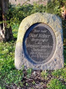 Grabstein von Karl Kettner dem Begründer der Wetzlarer Optischen Industrie