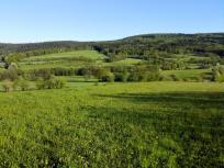 Blick vom Finkenberg auf die umliegenden Berge
