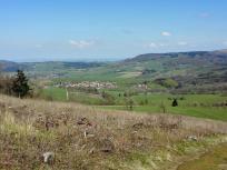 Blick auf Gersfeld von der Rodenbacher Kuppe